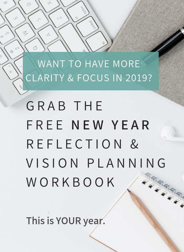 Web – New year Reflection Workbook Opt In Graphic